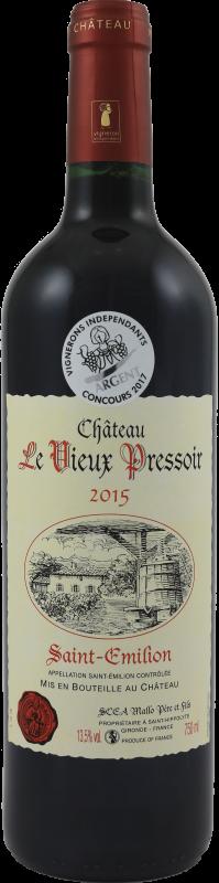 Château Le Vieux Pressoir 2015.