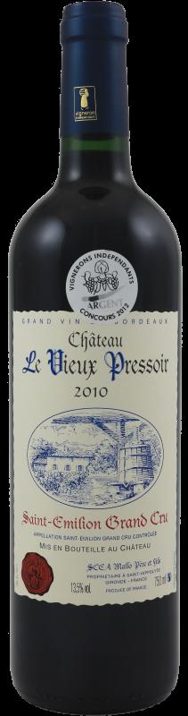 Château Le Vieux Pressoir 2015