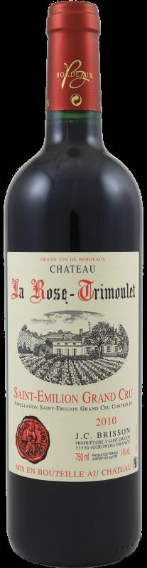 Château La Rose Trimoulet 2014
