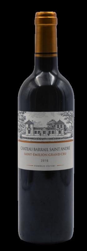 Château Barrail St André 2019 Cuvée sans soufre ajouté