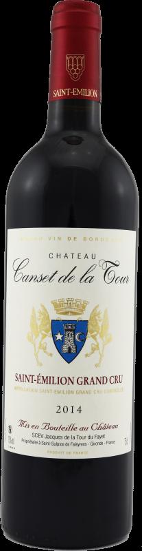 Château Canset de la Tour 2012