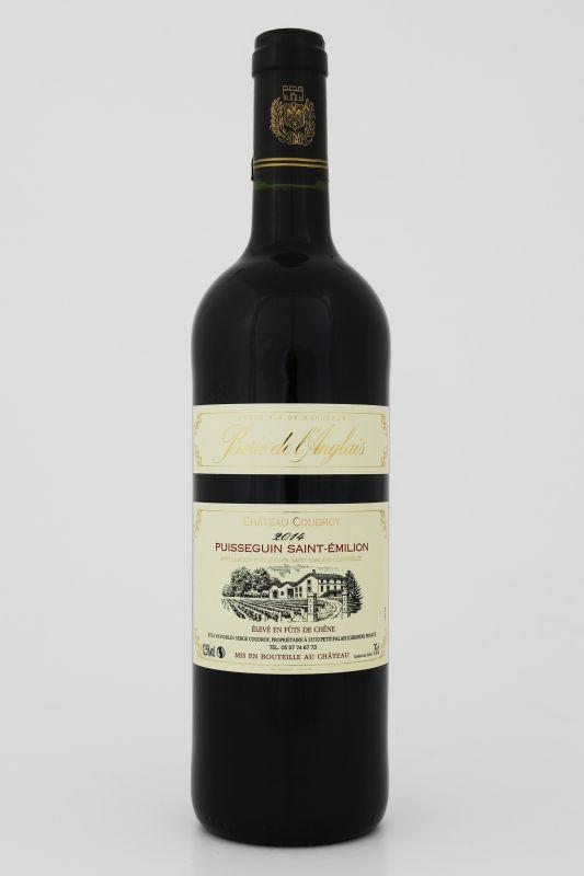 Vin millésimé anglais