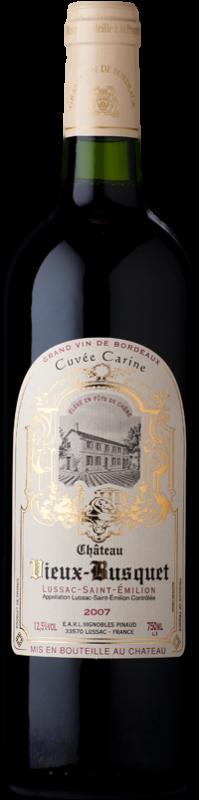 Château Vieux Busquet, Cuvée Carine 2015