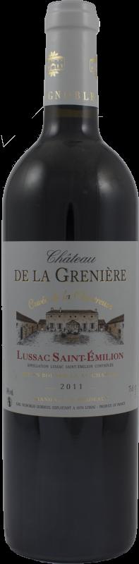 Château de la Grenière, Cuvée de la Chartreuse 2014