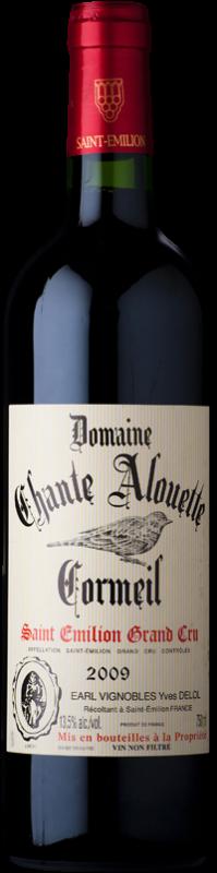 Domaine Chante Alouette Cormeil 2002