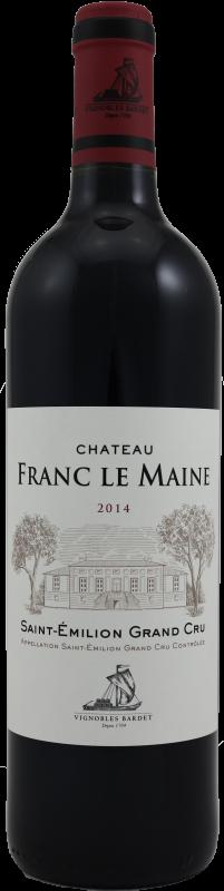 Château Franc le Maine 2014