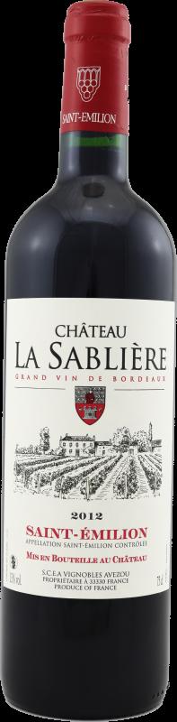 Château la Sablière 2014