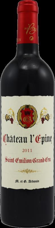 Château l'Épine 2015