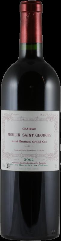 Château Moulin Saint Georges 2002